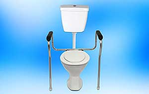 Elder Care India - Toilet Safety Rail