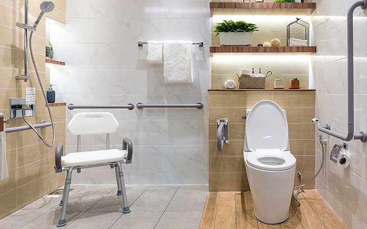 Bathroom Grab bars for Seniors