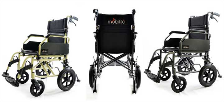 Mobilita Premium Wheelchair – M601MG