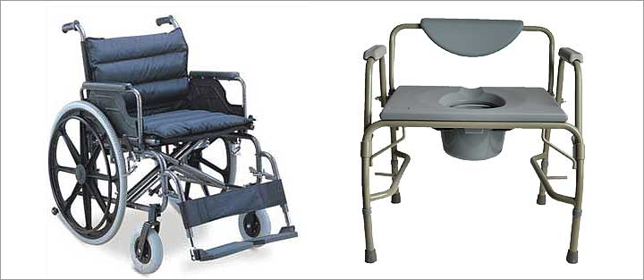 bariatric patient wheelchair and shower chair