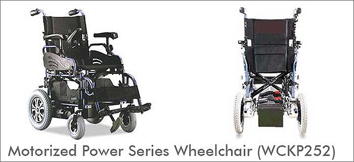 Motorized Power Series Wheelchair